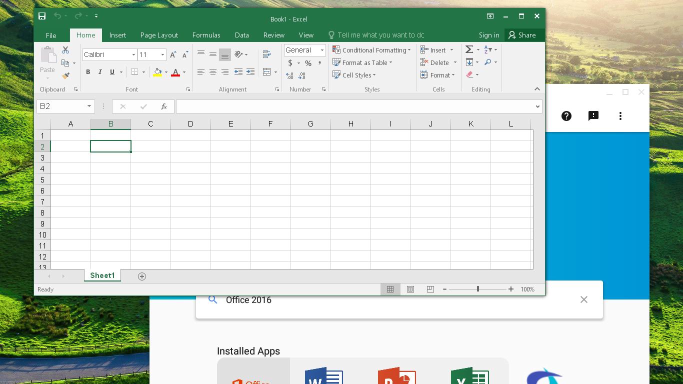 Microsoft Excel 2016 | What Runs | CodeWeavers