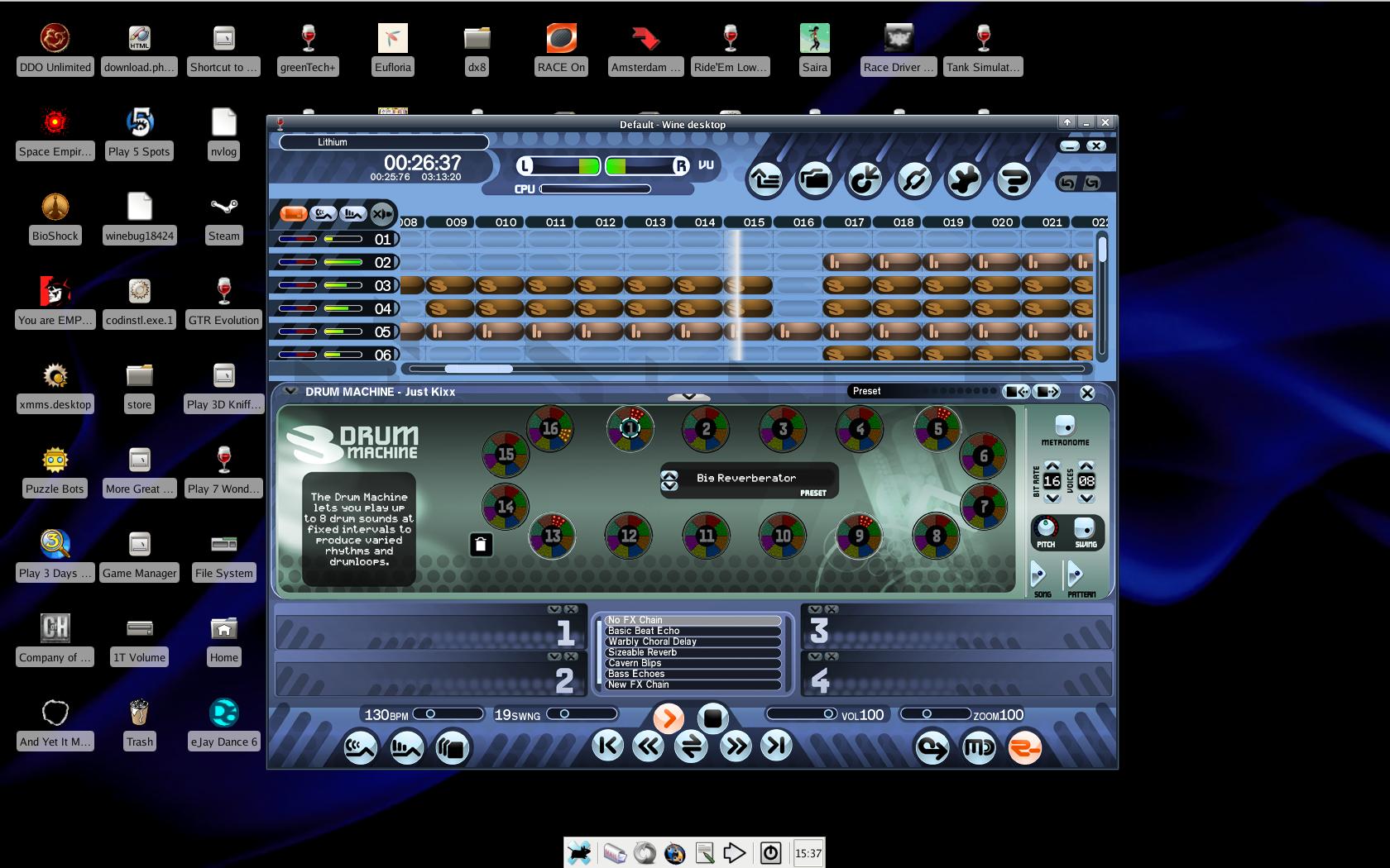 eJay - Virtual Music Studio | What Runs | CodeWeavers