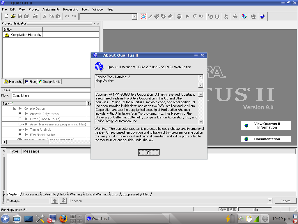 Quartus II Web Edition   What Runs   CodeWeavers