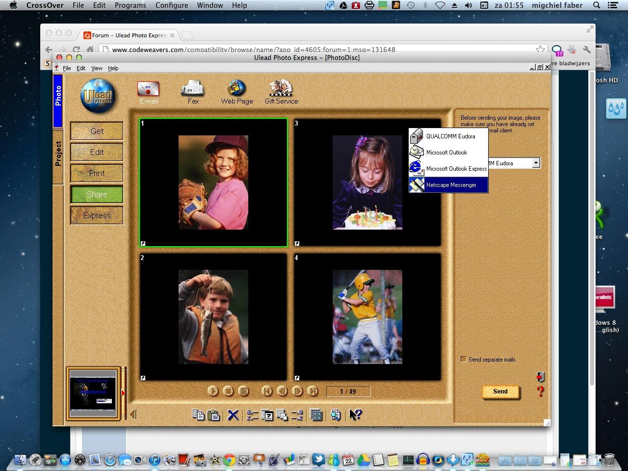Ulead Photo Express | What Runs | CodeWeavers