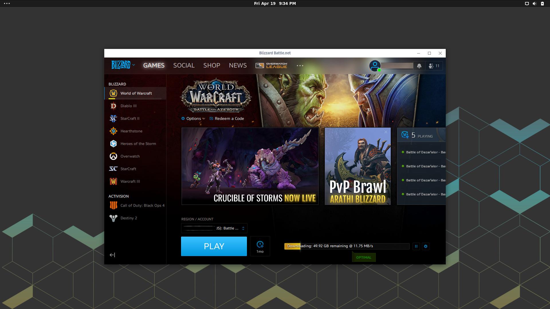 Battle net Desktop App | What Runs | CodeWeavers