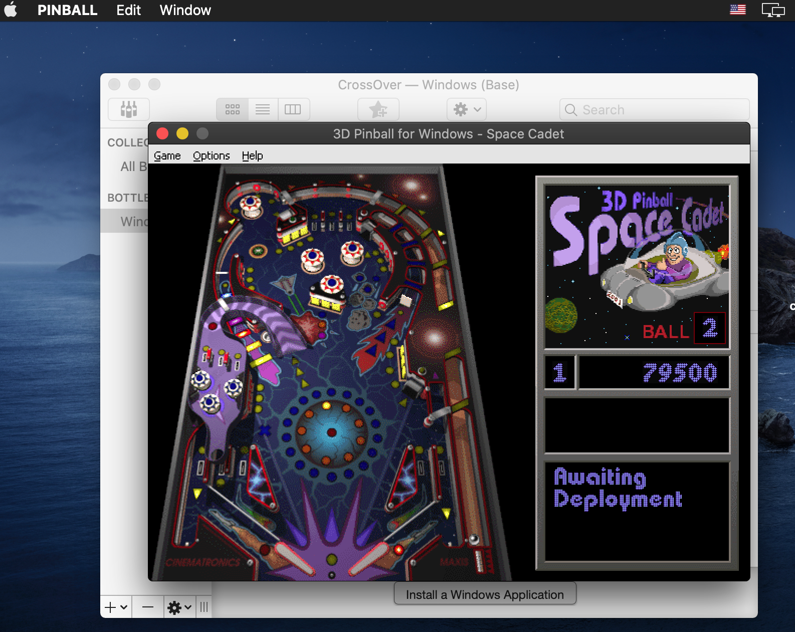 Pinball 3d Space Cadet Compatibility Database Codeweavers