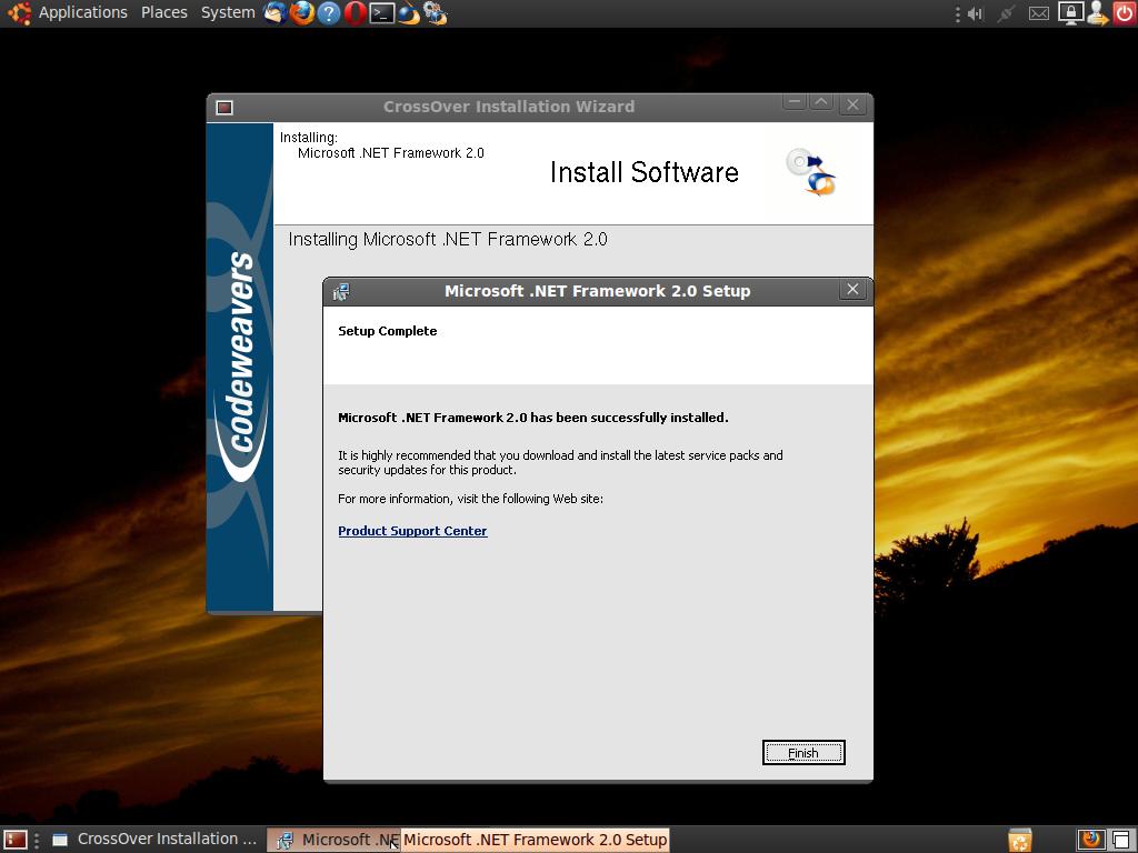 Microsoft .NET Framework 220.20   Compatibility Database   CodeWeavers