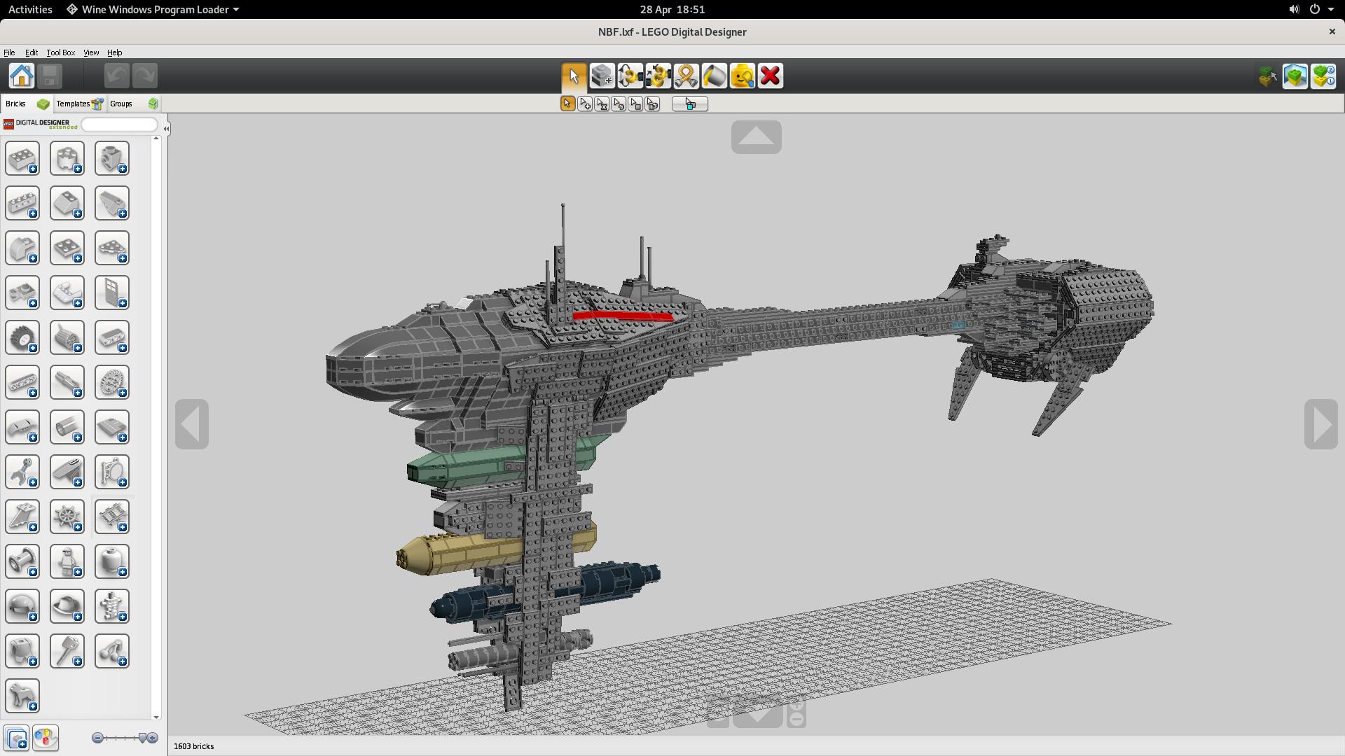 LEGO Digital Designer | What Runs | CodeWeavers