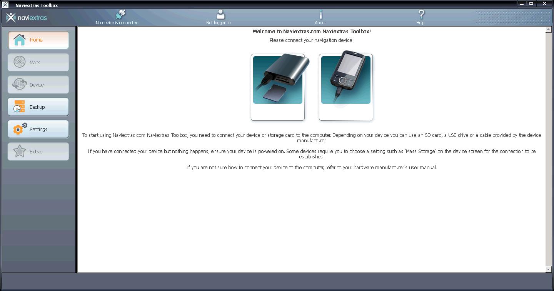 NaviExtras Toolbox What Runs CodeWeavers