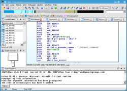 Screenshots for IDA Pro - Interactive Disassembler | CodeWeavers