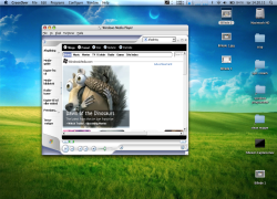 Screenshots for Windows Media Player 9 | CodeWeavers