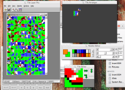 Crossover 10 1 0 Tile Layer Pro Running In With A Sonic 2 Rom Loaded Looking At S Artwork Similar Color Palette To That Of
