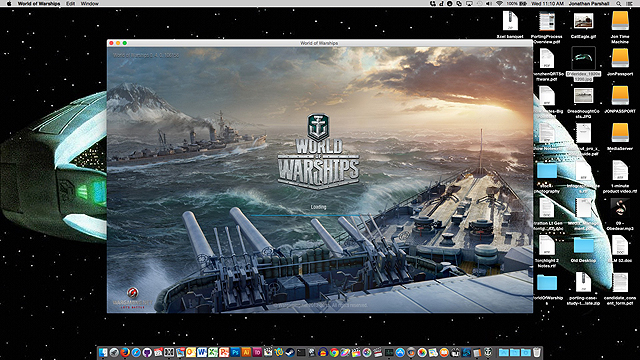 WoWS Splash Screen