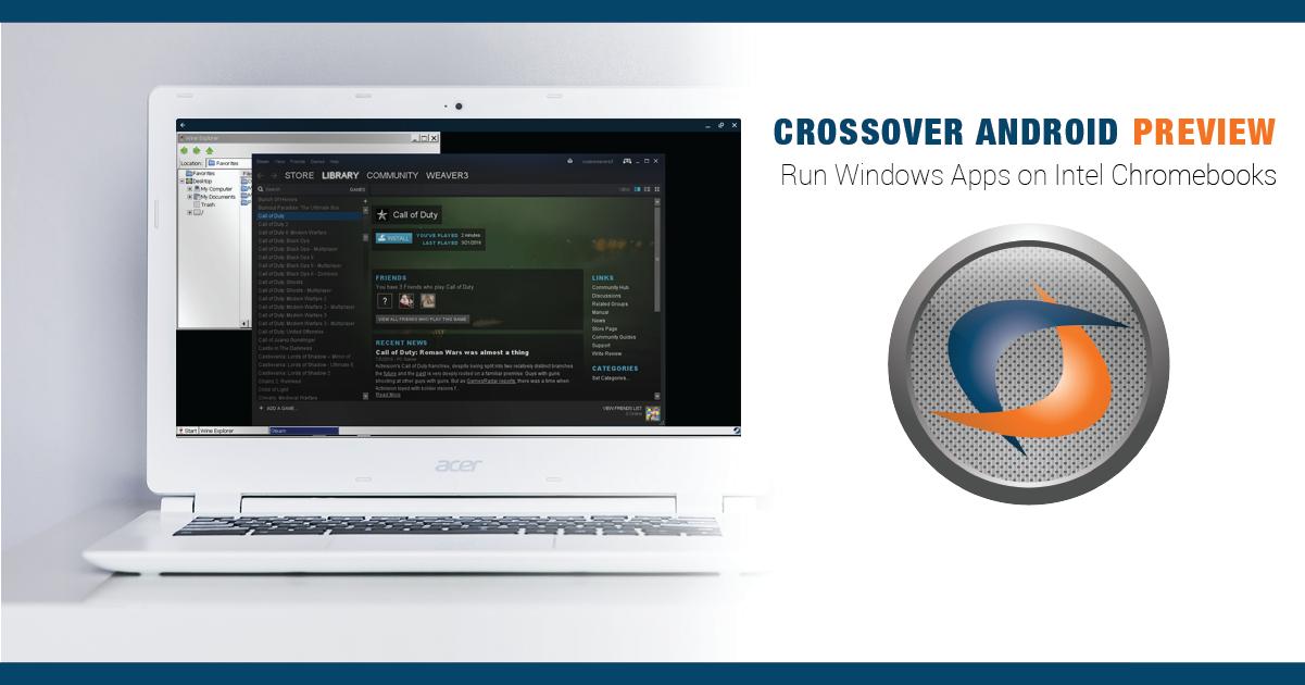 CodeWeavers Blogs | James Ramey | Get 'Yer Chromebooks Ready! The