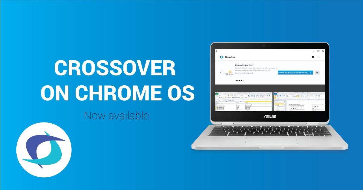 crossover on chrome os beta